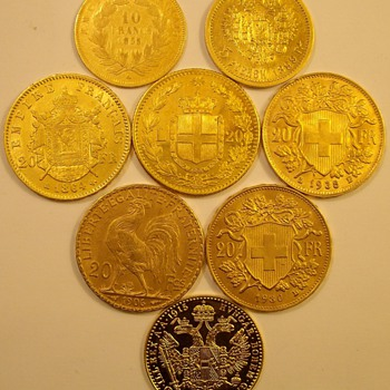 Foreign Gold From The 1800&#039;s &amp; Early 1900&#039;s