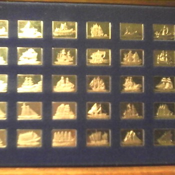 Greatest Ships Sterling Silver Ingots