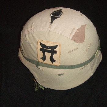 OIF Kevlar Helmet 