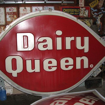 Dairy Queen signs