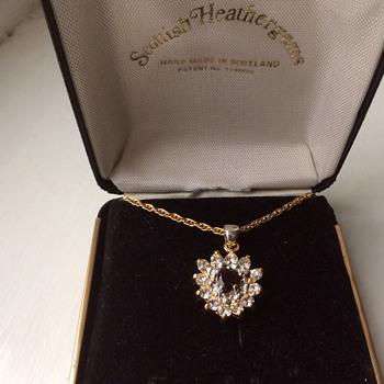 Vintage Scottish pendant