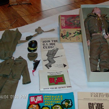 Vintage 64 G.I.Joe - Toys