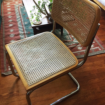 Cesca chairs - Mid-Century Modern