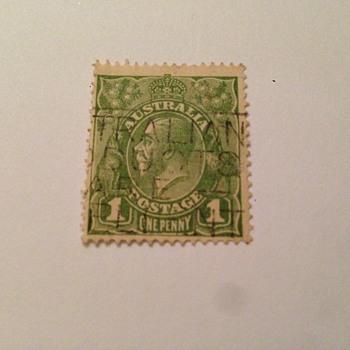rare stamp