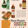 1954 Hiram Walker Cordials Advertisement
