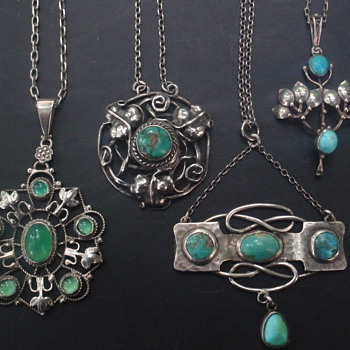 Arts & Crafts & Art Nouveau Pendants
