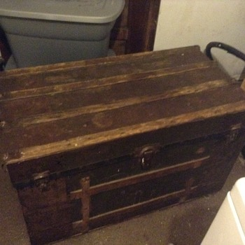 My 1800s steamer trunk? - Furniture