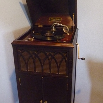 Puritone Phonograph - Records