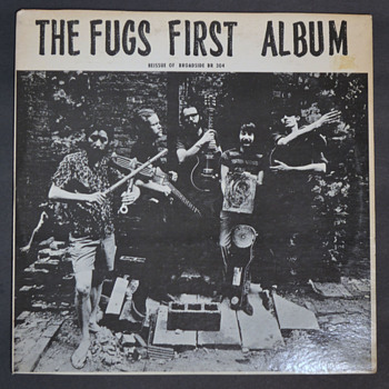 THE FUGS First Album - 1966 - Records