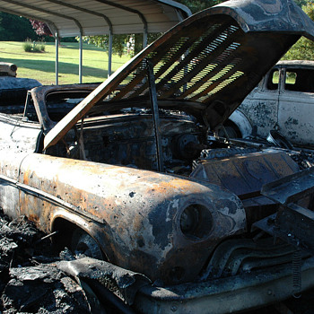 My Garage Fire...... - Classic Cars