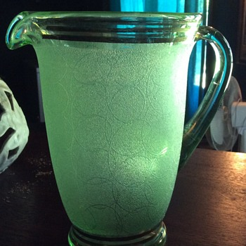 My Green Pitcher - Glassware