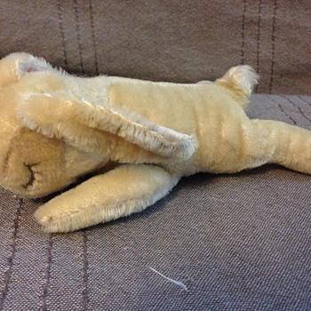 Steiff Floppy Hansi Rabbit, 6 inches - Dolls