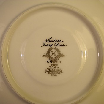 "Japanese Noritake China   ""Marquis"""