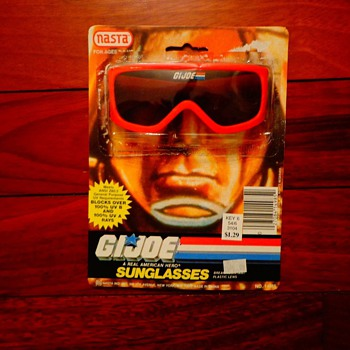 RARE 1988 GI Joe sunglasses  - Toys