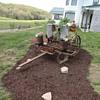 Antique Corn Planter - Yard Art.