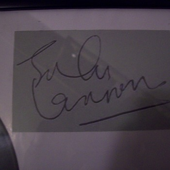 john lennon autograph  is it real  - Music