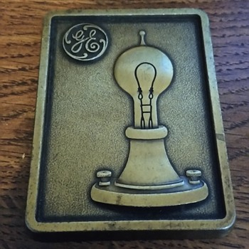 General Electric Plaque  - Advertising
