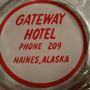 Gateway Hotel ashtray