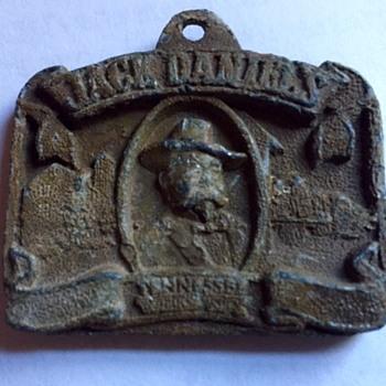 old Jack Daniels find via metal detector - Advertising