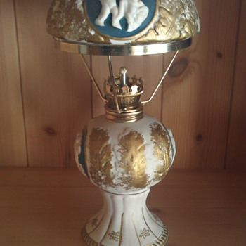 Beautiful Ceramic Oil Lamp