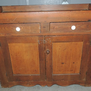 Dry Sink - Mixed Woods Primarily Pine