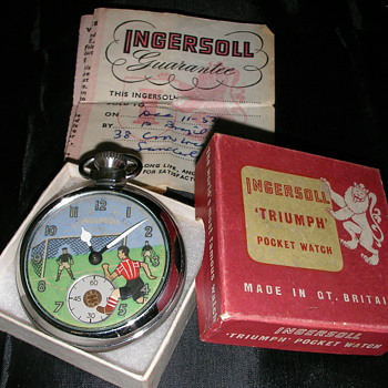 Ingersoll Animated Football Watch