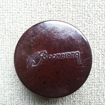 BAKELITE BOOMERANG FILM CANNISTER - Movies