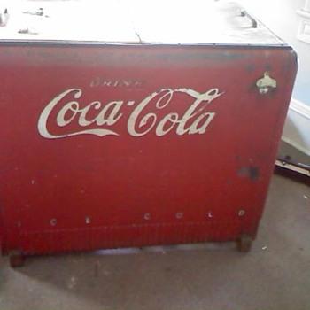 Coca cooler chest cooler