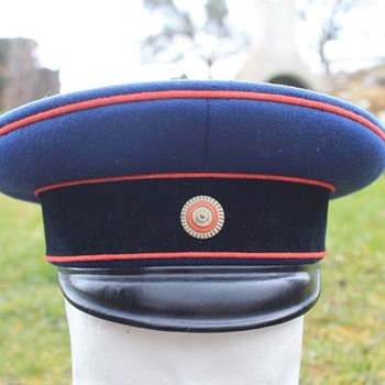 Model 1880 Hessian Technical/Artillery officer's visor cap