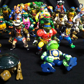 Teenage Mutant Ninja Turtles Action Figures - Toys