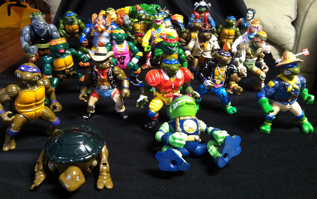 Teenage Mutant Ninja Turtles Action Figures Collectors
