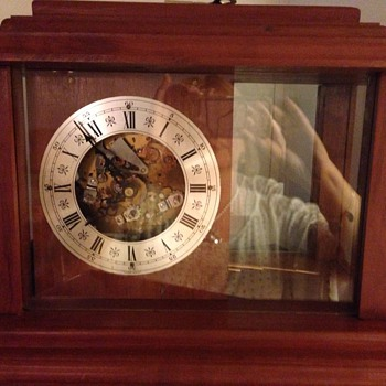 """Western Germany"" Mantel Clock  - Clocks"
