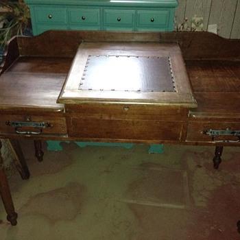 Old desk from Mom's basement - Furniture