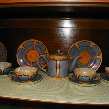 Japanese Tea Pot Set