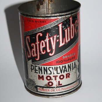 safety lube oil can