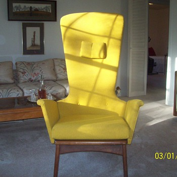 Unique Armchair Which I Would Love To Learn More About - Furniture