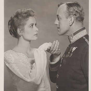 Grace Kelly and Alec Guiness Promo Photo (1956)