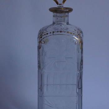 Daum Decanter - Art Glass