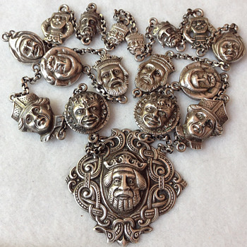 Latest sterling silver Dragestil necklace oddity find