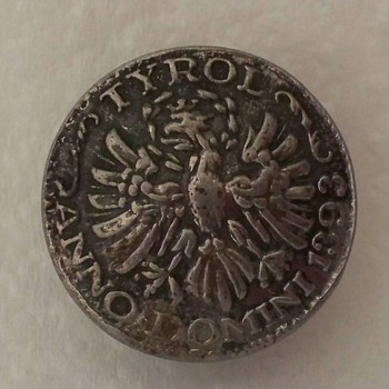 Metal button with