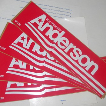 Campaign stickers - Posters and Prints