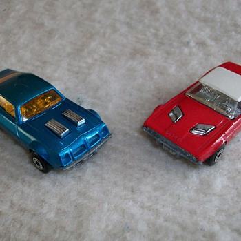 Matchbox Cars Dodge Challenger And Pontiac Firebird 1975 - Model Cars