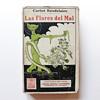 LAS FLORES DEL MAL (The Flowers of Evil), cover illustration by Rafael Romero-Calvet (1923)