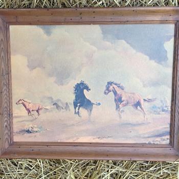 Horse painting - Visual Art