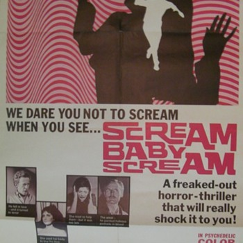 Scream Baby Scream poster - Movies