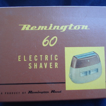 REMINGTON 60 ELECTRIC SHAVER