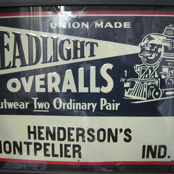 Headlight overalls - Signs