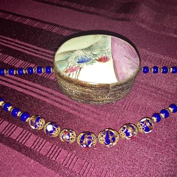 Cobalt necklace - Fine Jewelry