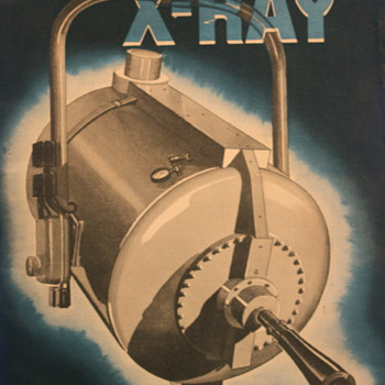 The Story of X ray by General Electric - Advertising