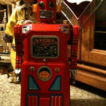 1962 Machine Man! - Toys